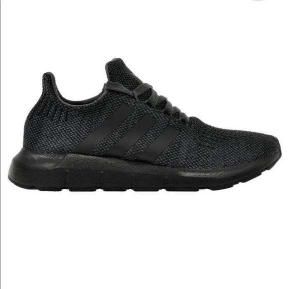 e5aac01d11287 adidas Other - Adidas boys swift run NWT grey five black sz8.5K